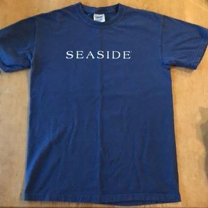 Seaside T-Shirt Navy Adult Small